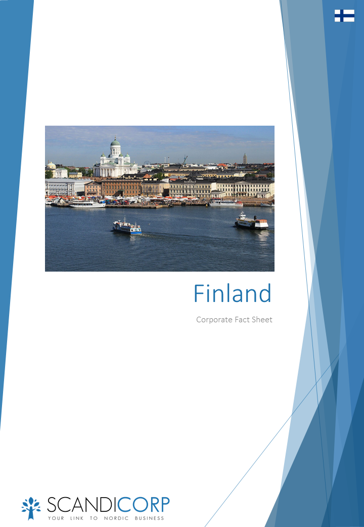 Scandicorp Corporate Fact Sheet Finland