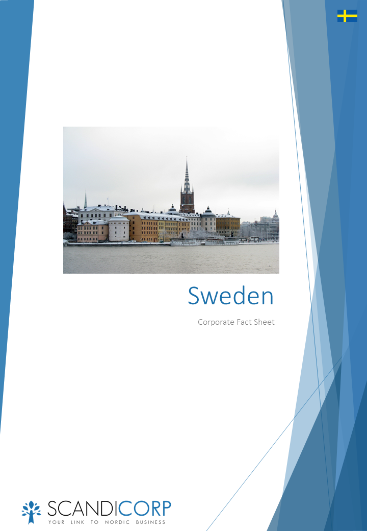 Scandicorp Corporate Fact Sheet Sweden